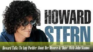 Stern Show Clip   Howard Talks To Amy Poehler About Her Divorce & 'Date' With John Stamos