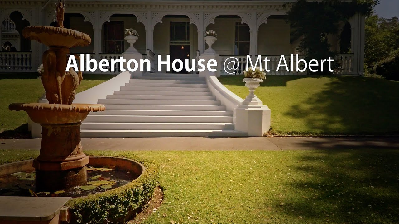 Alberton House - Heritage New Zealand - Aerial UAV Drone Footage