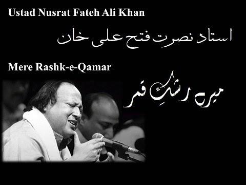 Mere Rashke Qamar Ustad Nusrat Fateh Ali Khan With Urdu Lyrics