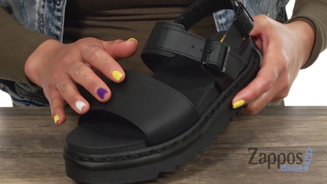 DR MARTENS Ladies Voss Sandals In Black