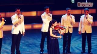 "Peresvet choir and Anna Rakita - J.S. Васн ""Air"" / Анна Ракита и хор Пересвет"