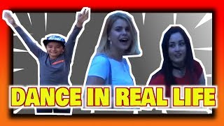 Fortnite, dance in the lobby in real life👯 ♂️ | 😍 how the girls eyes make! 😻 | Santi BoZ