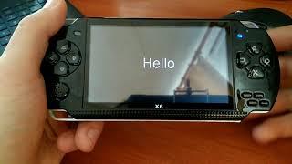 Установка игр на китайскую игровую консоль X6
