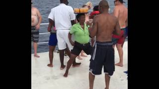 Dancing and drinks Jamaican style
