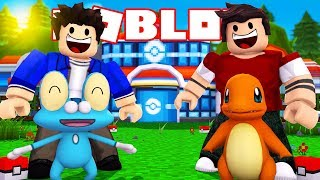 GET the POKEMON CHARMANDER and FROAKIE in ROBLOX!