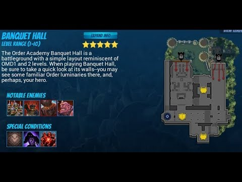 Orcs Must Die! Unchained Endless Banquet Hall Solo 5 Stars Maximilian