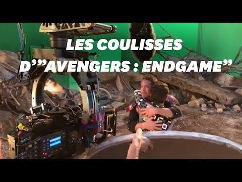 """""""Avengers : Endgame"""": cette vidéo des coulisses va faire pleurer les fans"""