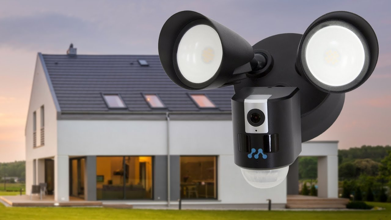 Camera Exterieur Ring Meet The New Momentum Aria Floodlight With Wi Fi Camera