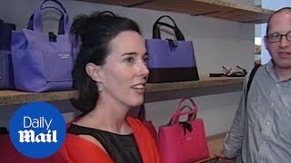 Fashion designer Kate Spade found dead in NYC apartment - Daily Mail thumbnail
