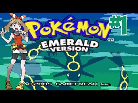 "Pokemon - Emerald #1 ดวลยิมแรก ยิมหิน ""คานาสึมิ"""
