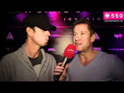 ASOT 550 Kiev - Interview Cosmic Gate