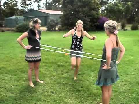 Игра в резиночку / Game elastic.flv