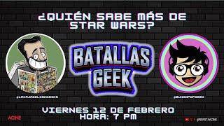 Batallas Geek | Quién es el verdadero Jedi?