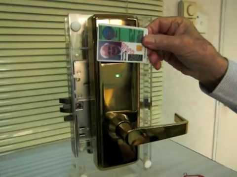 CorKey RFID Proximity Card Lock operation demonstration