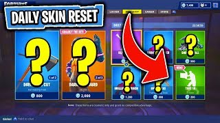 The NEW & FEATURED DAILY Items In Fortnite: Battle Royale! (Skin Reset #108)