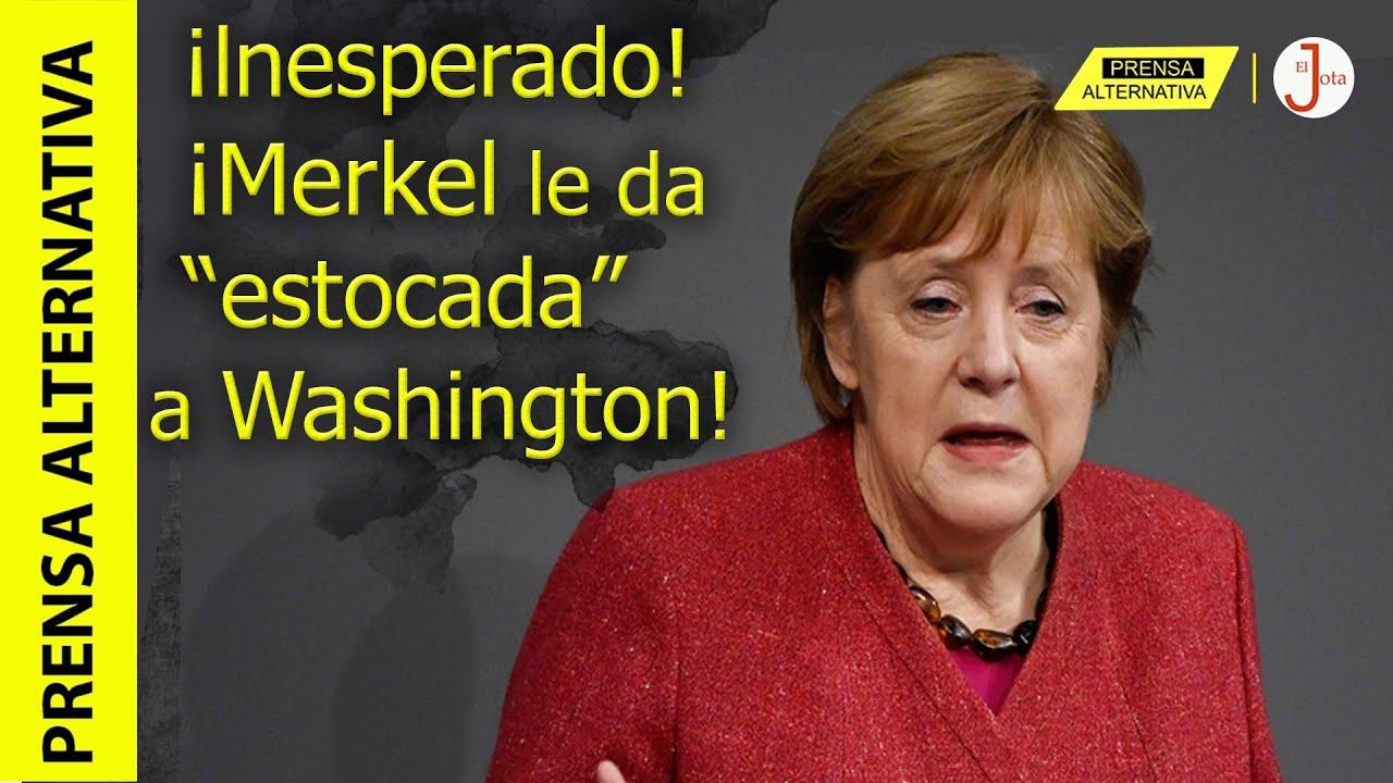 Canciller alemana presume ante el mundo su alianza con China! ¿Mensaje para Washington?