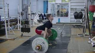Ксенофонтов Матвей, 14 лет,с в  46 5 Рывок 53 кг  Есть личный рекорд!