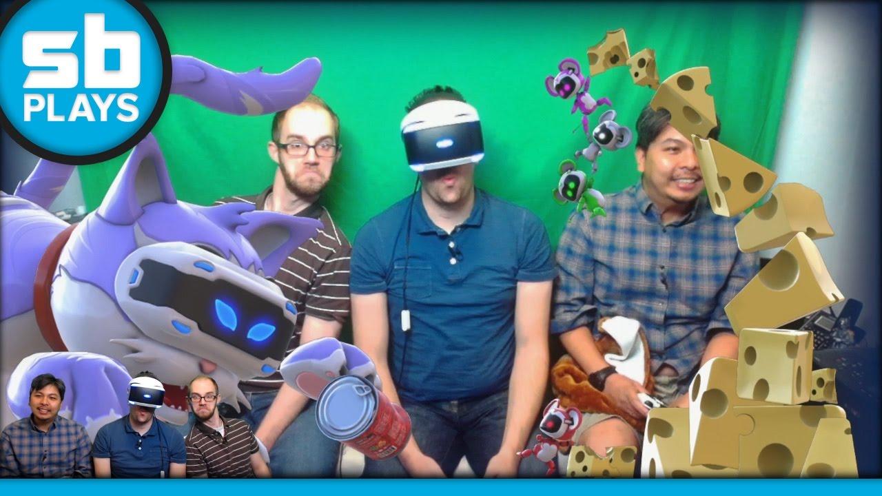SB Live Marathon 2016 - Part 6 - Playroom VR