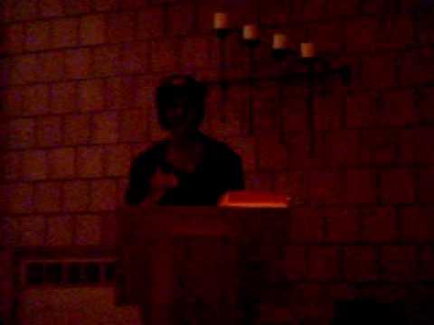 Black History poetry performance by Jodi Powell