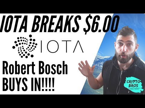 IOTA PRICE SPIKE Bosch