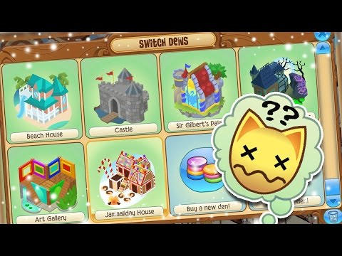 ANIMAL JAM: NAMING DENS..?