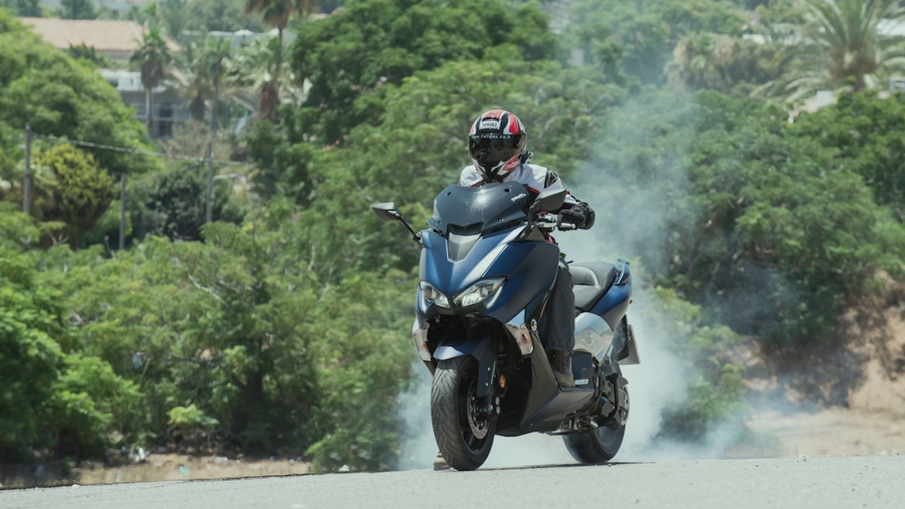 טימקס משופר בדריפטים Yamaha TMAX 530 Drifts