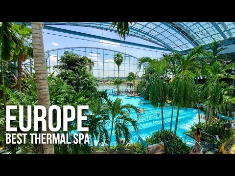 Most Amazing Thermal Spa in Europe: Therme Bucharest, Romania
