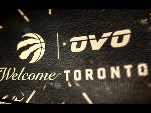 Welcome Toronto - Raptors New OVO Court