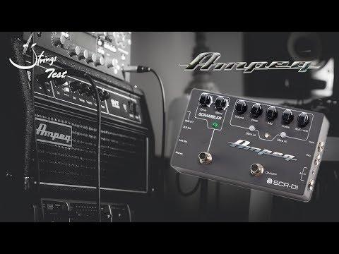 Strings Quick Test - Ampeg SCR-DI Demo