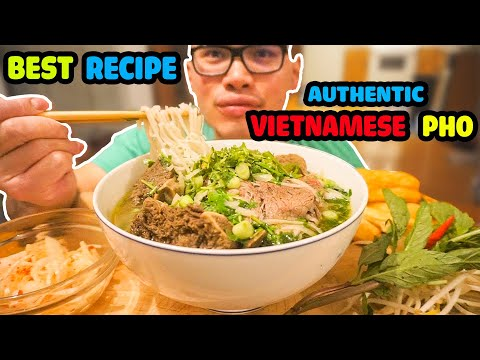 How to make an Authentic bowl of VIETNAMESE PHO