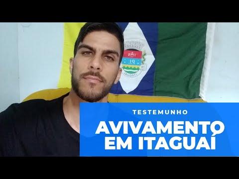 Avivamento em Itaguaí (Meu Testemunho) - Eliseu Júnior 14/01/20