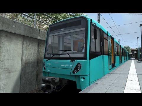 FR/ Train simulator 2015 / U-Bahn Frankfurt