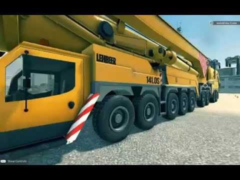 Giant machines 2017 - mobile crane