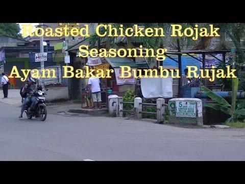 Jakarta Street Food 256 part 1 Roasted Chicken Rojak Seasoning Ayam Bakar Bumbu Rujak.mp4