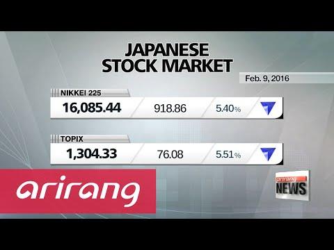Japan stocks plummet more than 5%