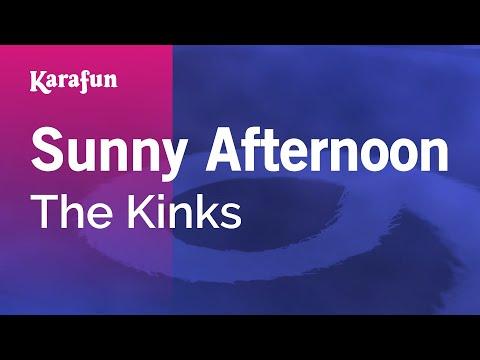 Karaoke Sunny Afternoon - The Kinks *