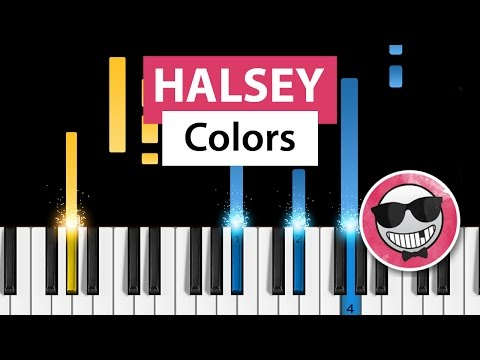 Halsey - Colors - Piano Tutorial - How to Play