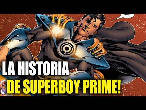 La historia de Superboy-Prime -Biografias Banana