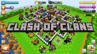 IF CLASH OF CLANS WAS MADE BY MOJANG (MINECRAFT)