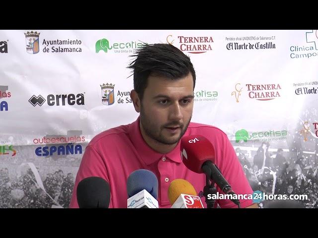 Rueda de prensa de 'Astu' tras el Unionistas - Zamora
