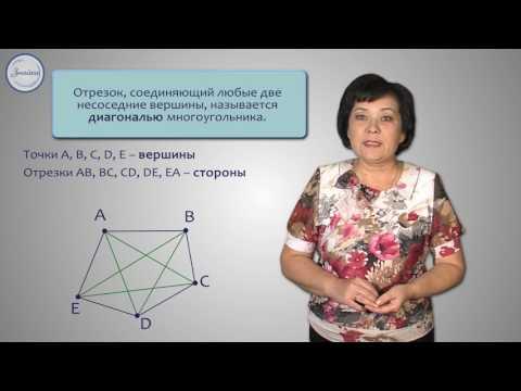 Видео уроки по геометрии 8 класс многоугольники