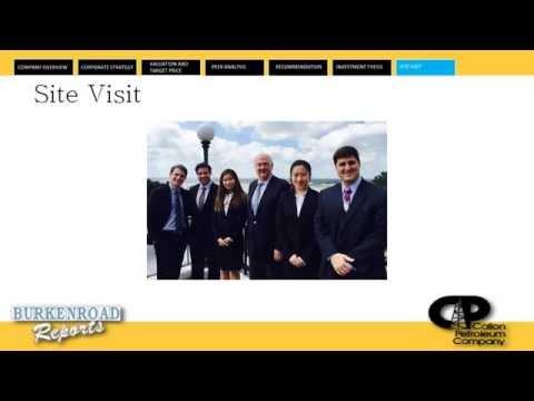 Callon Petroleum Company - Fall 2014 Presentation