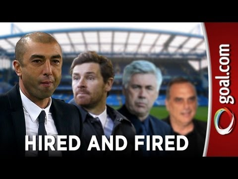 Hired and fired: RDM becomes EIGHTH Chelsea boss sacked by Roman Abramovich