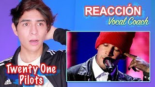 Reacción a la Voz Real de Tyler Joseph Twenty One Pilots - Vocal Coach Reacciona | Vargott