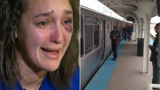 Young Punks Trap Girl on Train, Which Made Worse By What Happened After They Had Their Way With Her