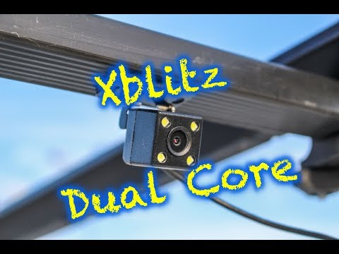 Xblitz Dual Core tylna kamera noc / rear camera night