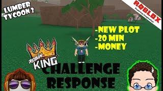 Roblox - Lumber Tycoon 2 Challenge Response