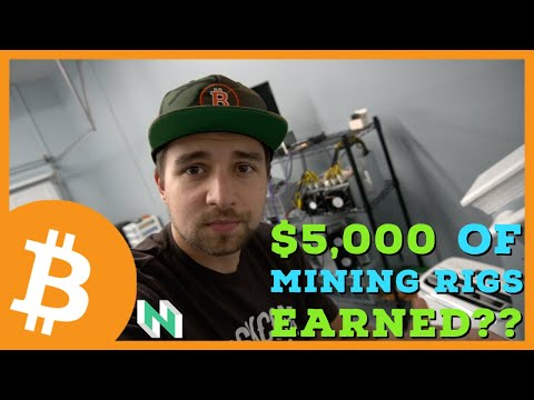 HOW MUCH MONEY did $5,000 of Crypto Mining Rigs Earn in 2020?!