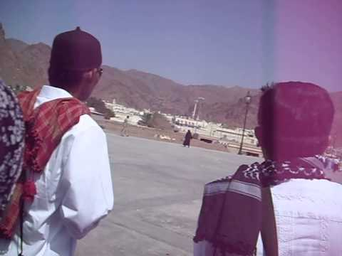 Visit to the mountain of Uhud in Medina