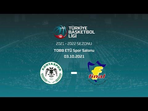 Beysu Konyaspor Basketbol - Final Spor TBL 01.Hafta
